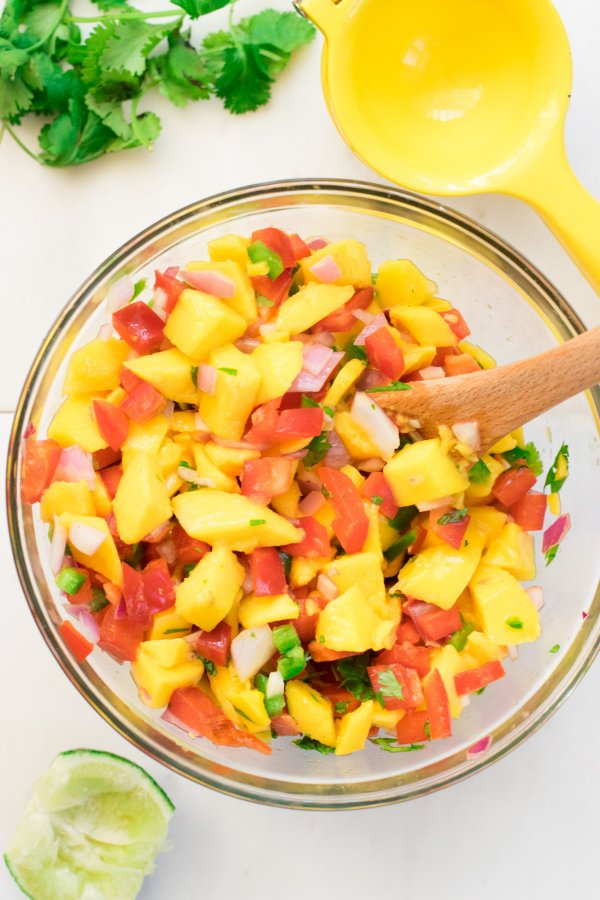 Grilled Mango Halves Are Great for Scooping