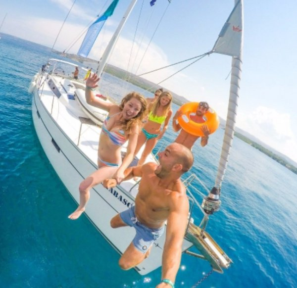 parasailing, sports, leisure, catamaran,