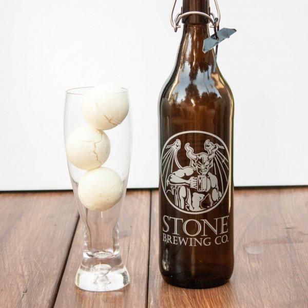 Round Beer Bath Bombs