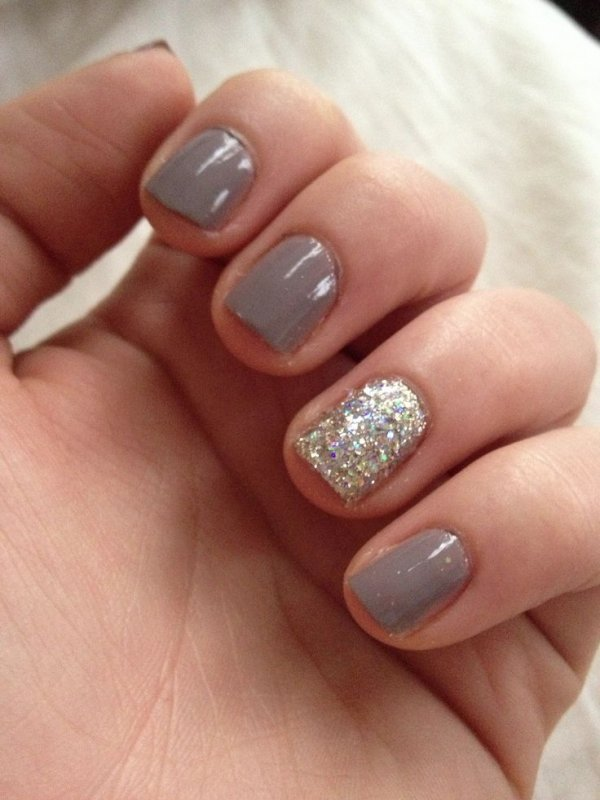 34 dynamic looks for short nails nails neutral and accented nail prinsesfo Image collections