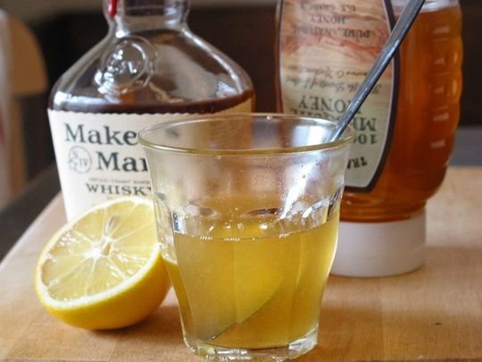 Homemade Bourbon Cough Syrup