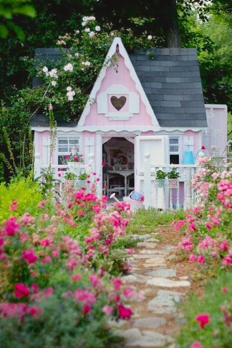 flower,house,garden,cottage,yard,