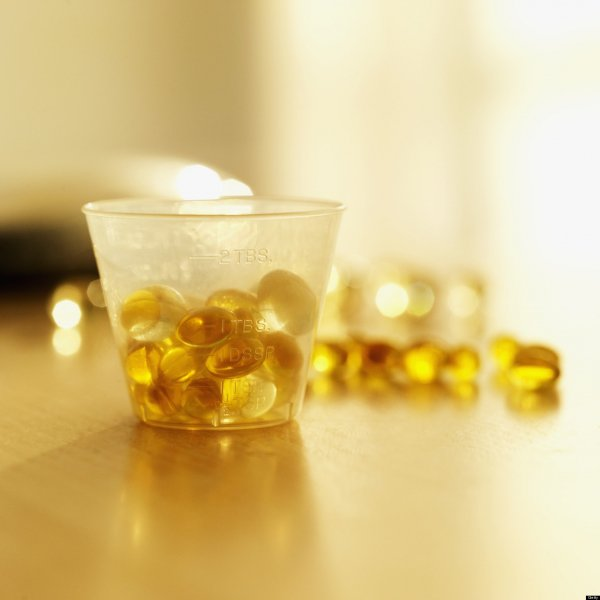 Swallow Fish Oil Pills