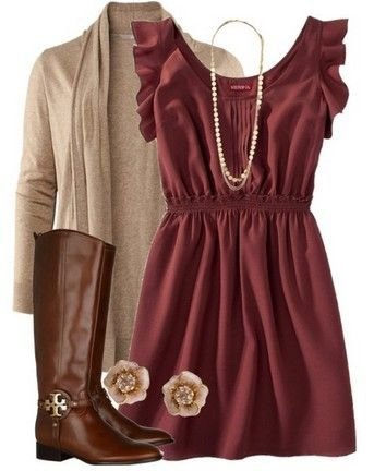 clothing,day dress,dress,sleeve,maroon,