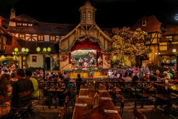 Biergarten 7 Best Themed Restaurants In Disney World