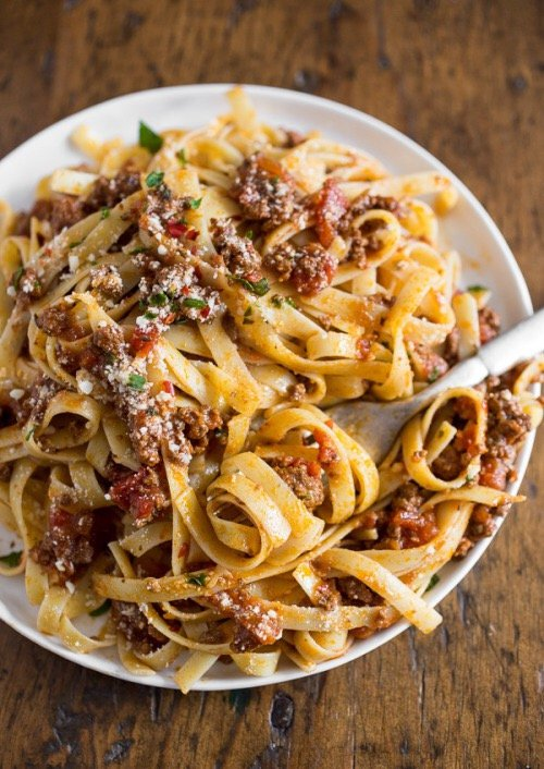 food, cuisine, dish, spaghetti, italian food,