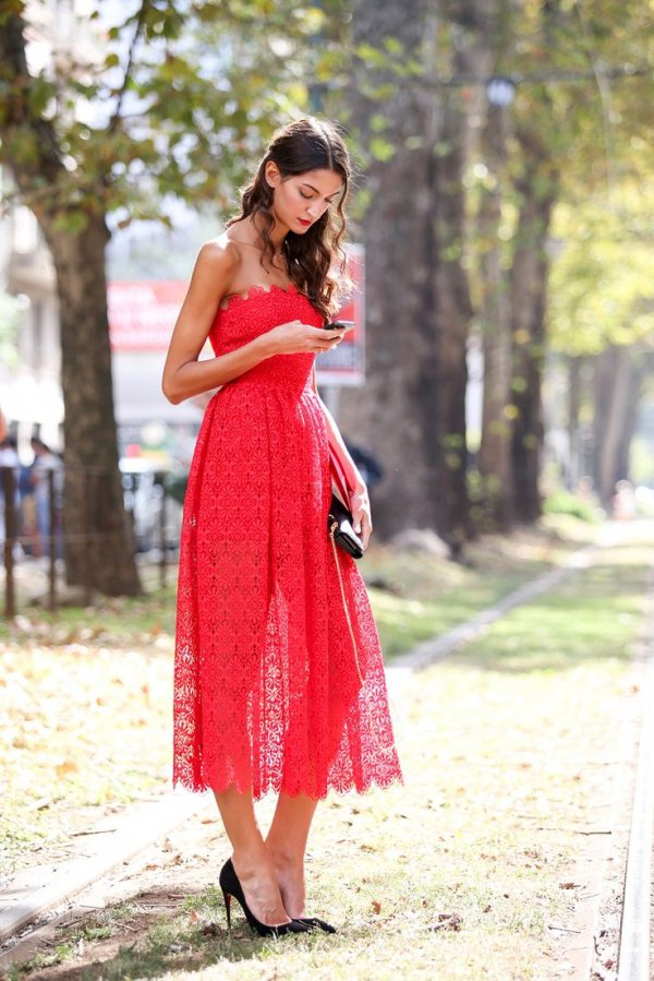 red,dress,clothing,pink,gown,