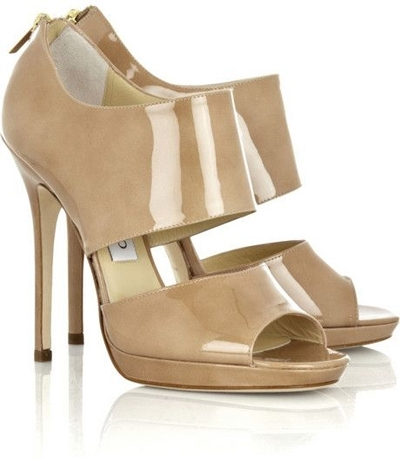 Jimmy Choo Private Patent Leather Sandals