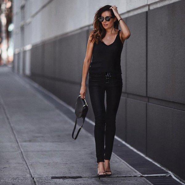 black, clothing, footwear, dress, little black dress,
