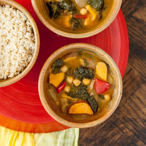 Vegan Carribean Coconut Curry