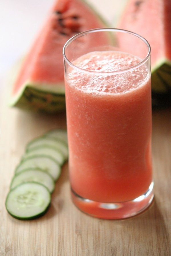 Watermelon Cucumber Smoothies