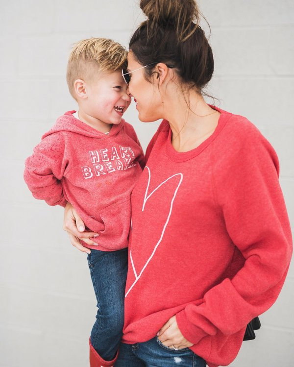 person, clothing, red, child, toddler,