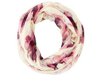 Floral Printed Infinity Scarf 45 Infinity Scarves For All