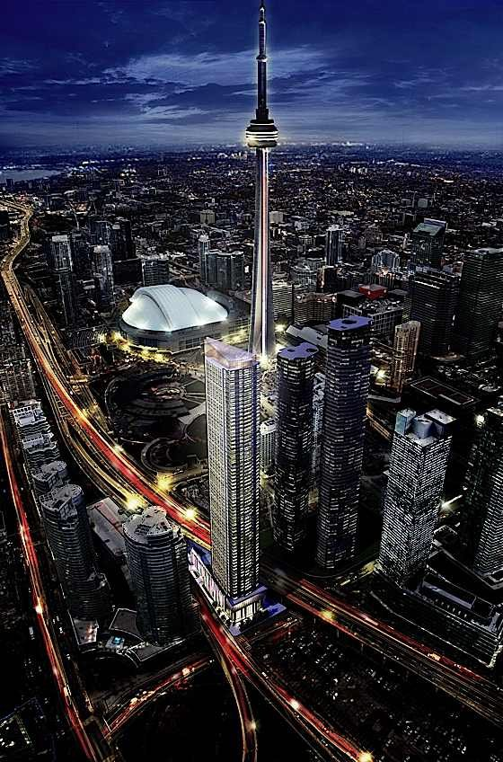 See Amazing Views from the CN Tower in Toronto, Canada