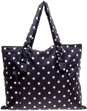 Sonia Rykiel Polka Dot Reversible Day Bag