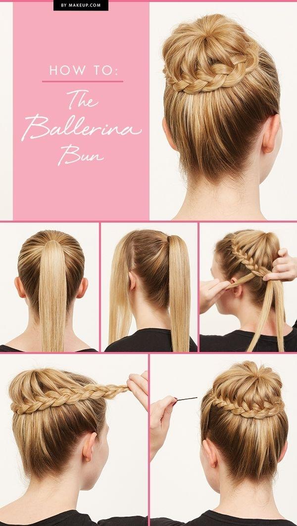 Fantastic 5 Braided Ballerina Bun 43 Fancy Braided Hairstyle Ideas From Hairstyles For Women Draintrainus