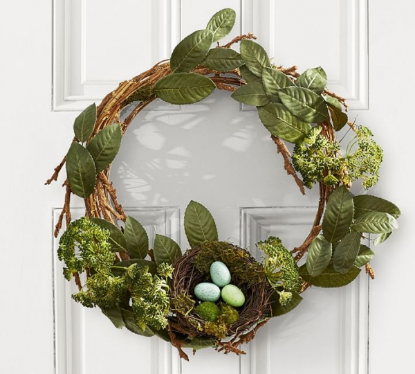 wreath, branch, green, christmas decoration, twig,