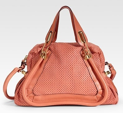6. Chlo¨¦ Paraty Medium Perforated Leather Tote - 8 Gorgeous Chlo¨¦\u2026