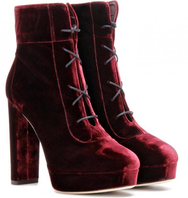 footwear, leather, boot, maroon, suede,