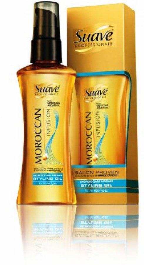 Swap Your Moroccan Oil out for Suave Moroccan Styling Oil