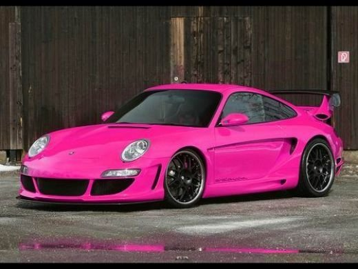 Pink Porsche Jaw Dropping Sports Cars You Can Dream About - Little sports cars
