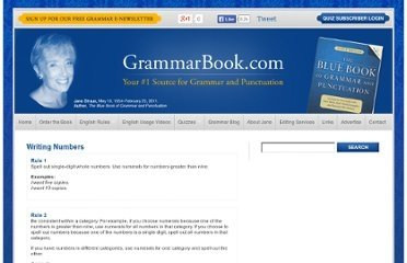 The Blue Book of Grammar
