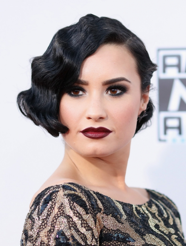 short hairstyles for big women : Finger Waves