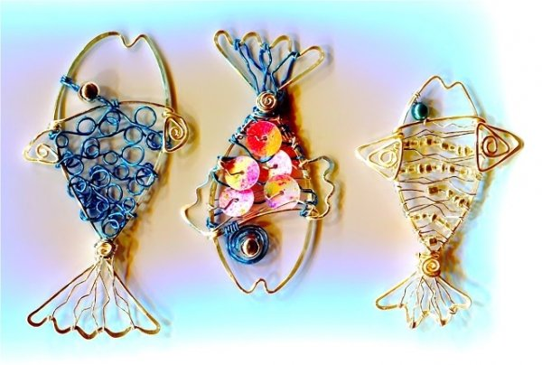 Wire Jewelry - 7 Fishing and Fish-themed Craft Projects for the…