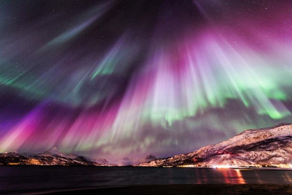 The Northern Lights in Multiple Locations