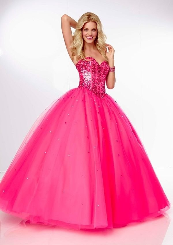 Pink Sparkles 25 Pink Ball Gowns For Your Next Gala
