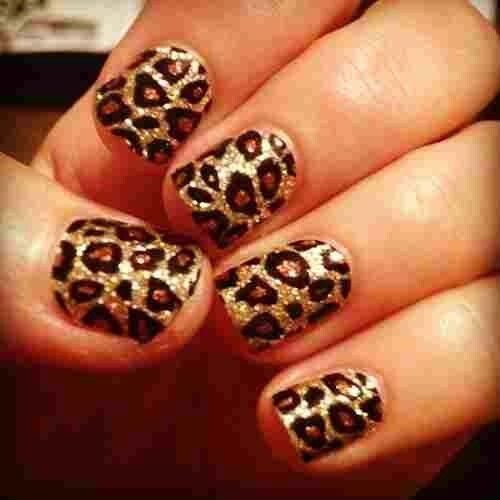 Cheetah Nail Designs - Cheetah Nail Designs - 34 Dynamic Looks For Short Nails …