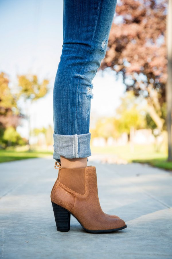 Ankle Boots with a Heel