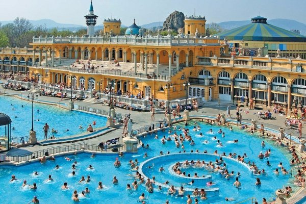 Take a Dip in the Spa in Budapest in Hungary