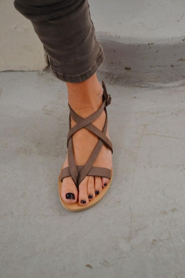 Neutral Strappy Sandal