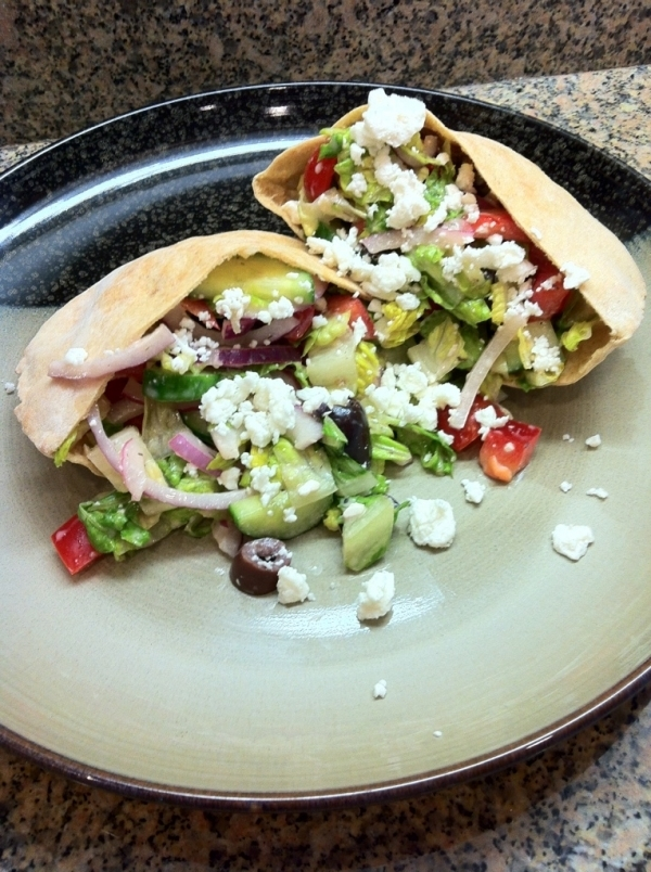 15. Greek Salad Pita - 29 Ways to Reinvent Your Sandwich for People…