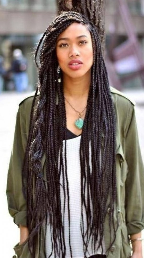 Longgggg Box Braids 17 Sexy Braids For Everyone With