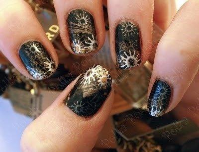 Steampunk Nail Art