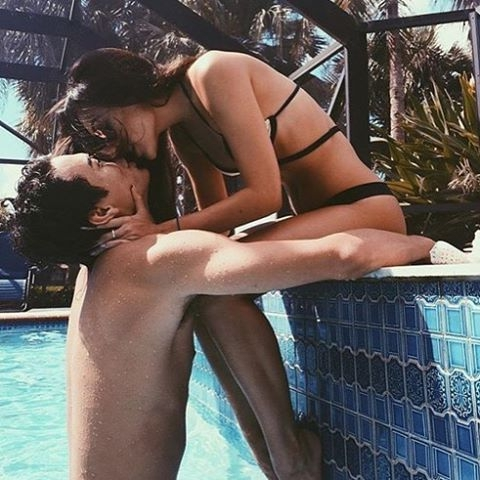 clothing, hair, black hair, leg, swimming 🏊 pool,