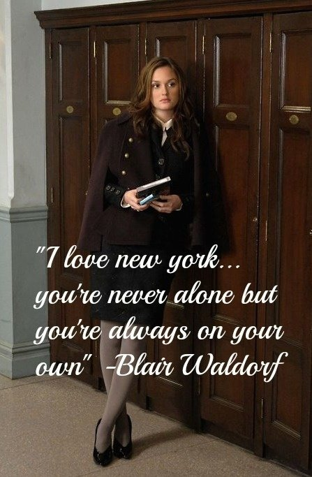 Gossip Girl New York I Love You Xoxo Quotes : Gossip Girl made a lot of fans fall in love with New York City.