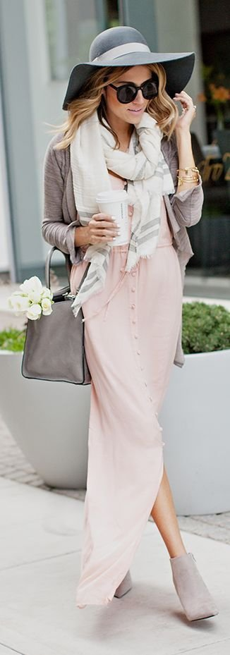 Girly-girl - 26 Fabulous Outfits To Wear With Streetstyle Hats ...u2026