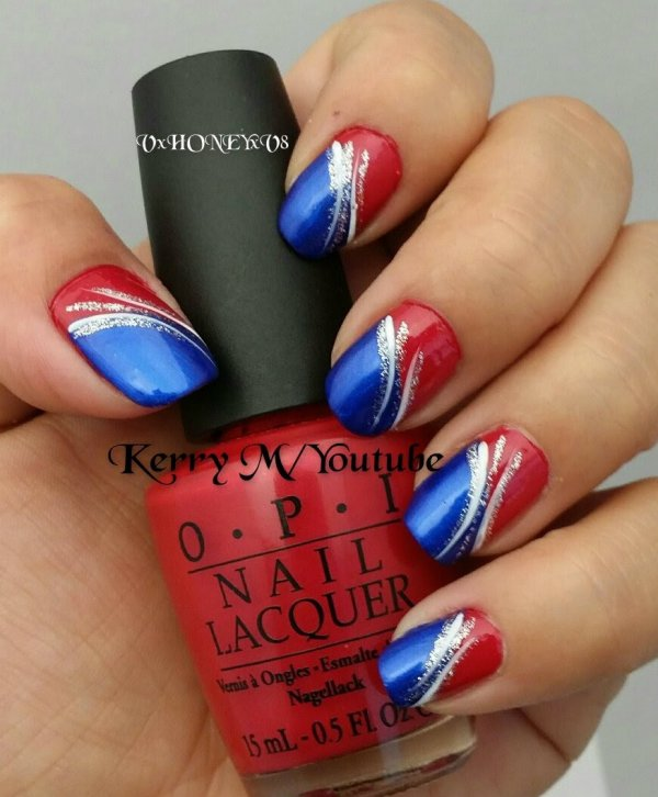 4th of july nails summer gets even hotter with these nail art 4th of july nails prinsesfo Gallery