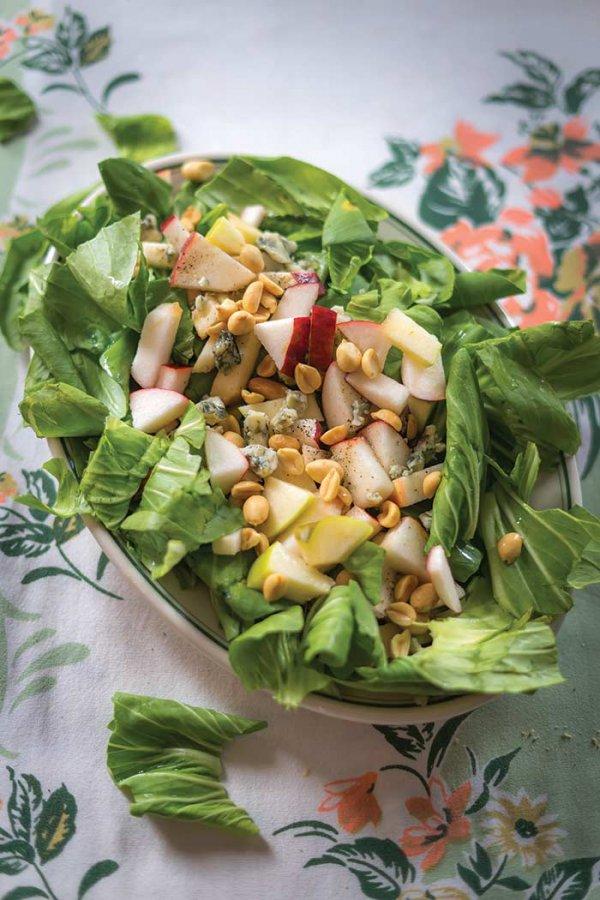 salad, dish, food, produce, plant,