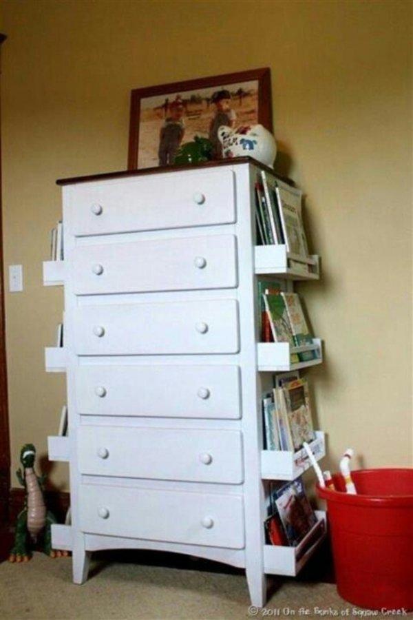 Add Ikea Spice Racks to a Dresser