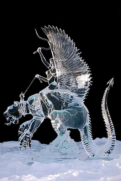 Ride Ice Sculpture
