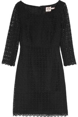 Juicy Couture Cotton Lace Mini Dress