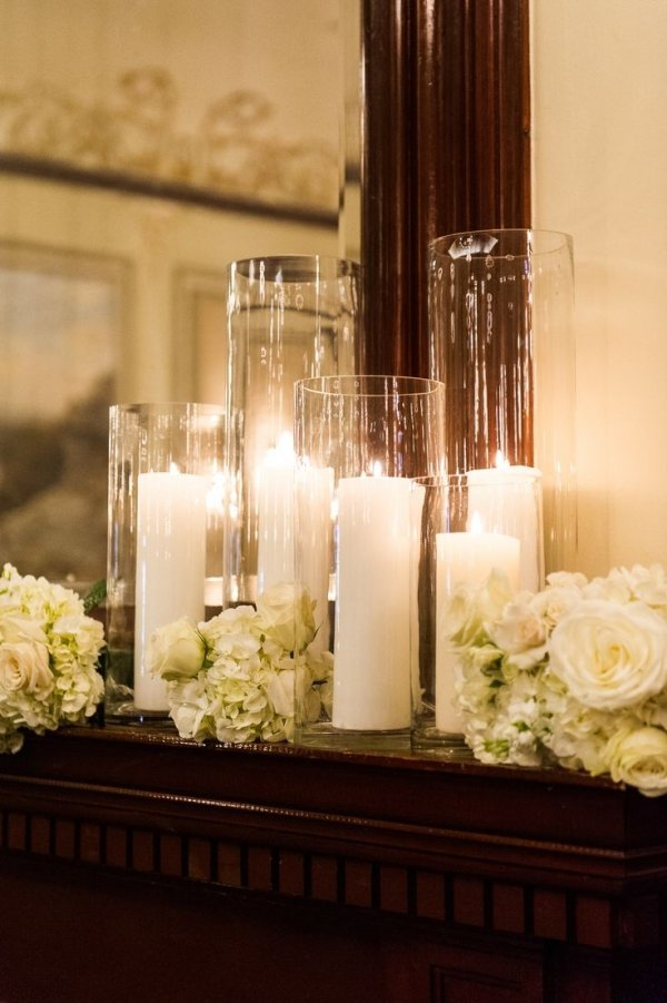 On The Mantle 26 Lovely Candle Arrangements For Your