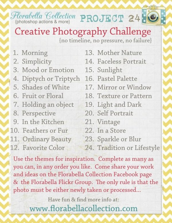"""""""Project 24"""" Creative Photography Challenge"""