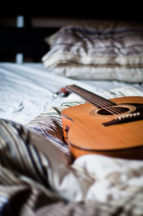 Play a Musical Instrument before You Go to Bed