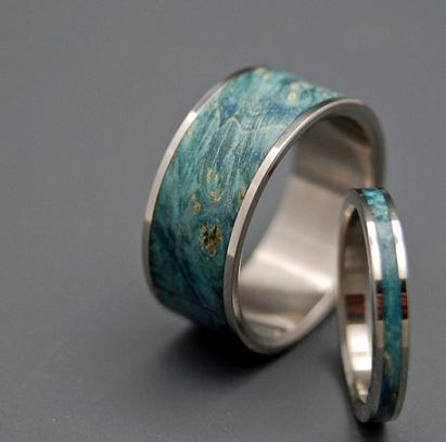 match your personality - Unique Wedding Ring
