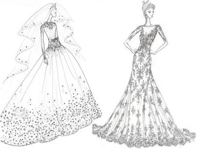 Gowns Made for a Princess...